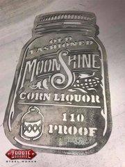 Old Fashioned Moonshine Mason Jar