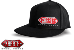 Flat Bill Fitted Hat