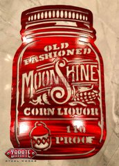 Old Fashioned Moonshine Mason Jar -SM