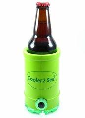 Cooler 2 See® 2.0 Green Koozie