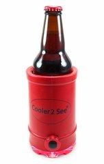 Cooler 2 See® 2.0 Red Koozie