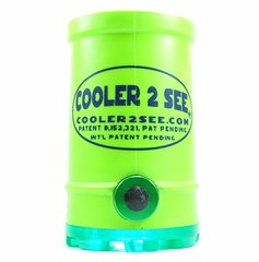 Neon Green Original Koozie