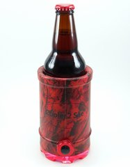 Cooler 2 See® 2.0 Red Camo Koozie