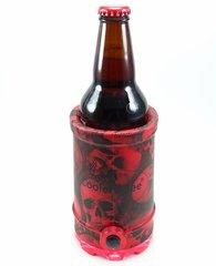 Cooler 2 See® 2.0 Red Skull Koozie