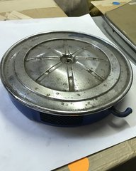 ORIGINAL 1967 390GT Air Cleaner Base & Lid