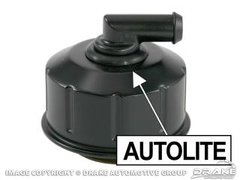 Black Oil Filler Cap 1968-1971 Mustang Boss 302 428 Cobra Jet w/ Autolite Stamp