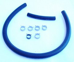 Fuel Line Hose Kit w/ clamps 1967-1973 Mustang All w/ 3/8 Fuel Line