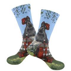 Scottish Terrier Piper Socks