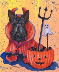 Scottish Terrier - House Flag Boo Hoo!