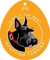 Simply the Best Scottie Stickers