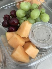 Fruit w. Cashew Cherry Dip