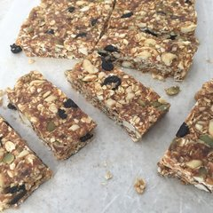 Peanut Butter Cherry Granola Bars - 6 Pack