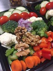 Salt and Vinegar Chickpeas Salad - Side Portion