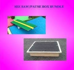 BUNDLE-RABBIT SEE SAW/PAUSE BOX