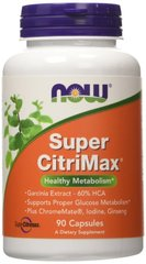 Super Citrimax by Now Foods 90 Capsules
