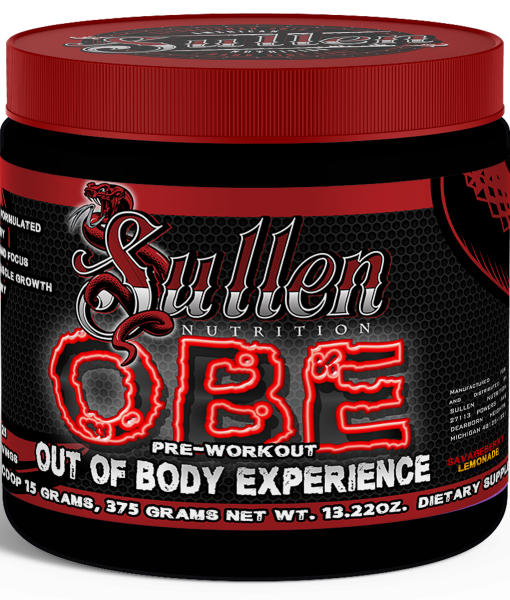 OBE-Out of Body Experience by Sullen Nutrition 25 Servings Lemonade