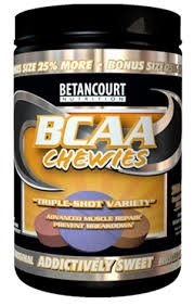 BCAA CHEWIES by BETANCOURT NUTRITION 40 SERVINGS