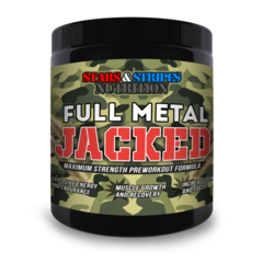 Full Metal Jacked by Stars and Stripes Nutrition 30 Servings
