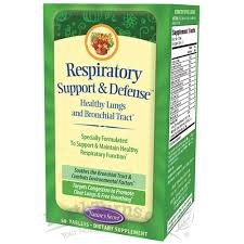Respiratory Support & Defense by Nature's Secret 60 Tablets