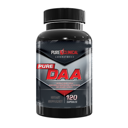 Pure Clinical DAA 120 Capsules