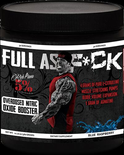 Full As F*ck Rich Piana 5% Nutrition 30 Servings