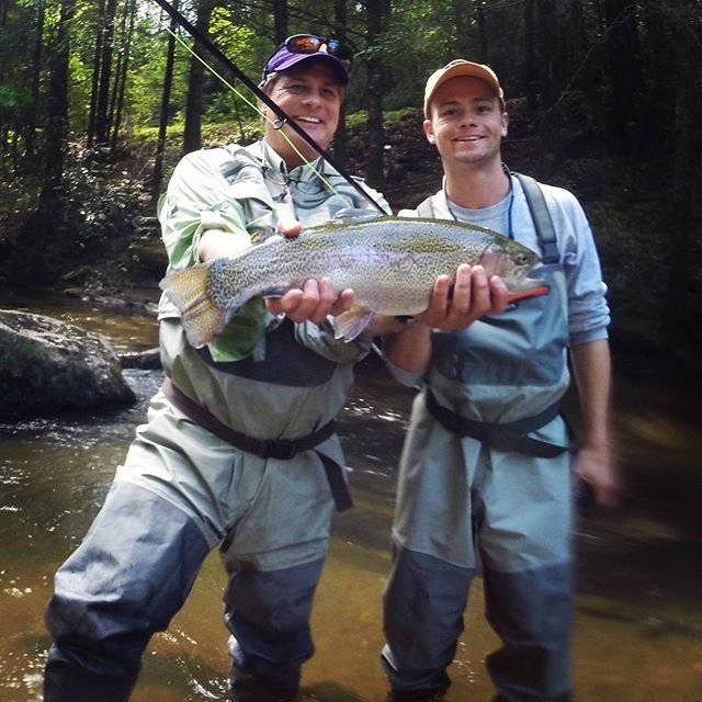 fly fishing in georgia