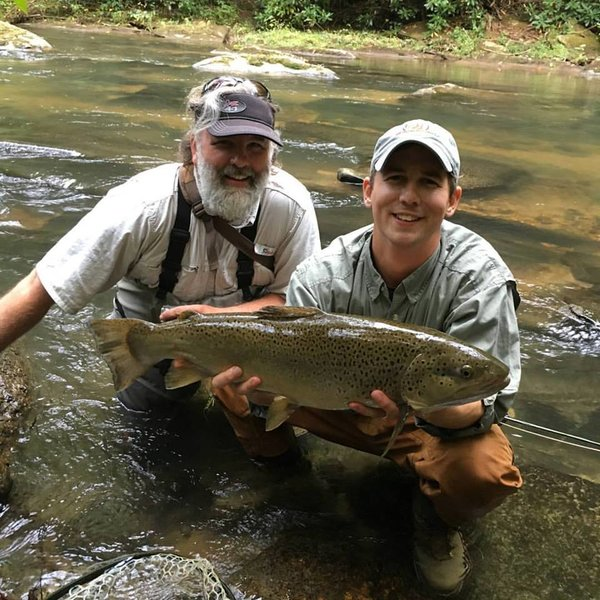 Fly fishing trips at the best spots in georgia north for Fly fishing north georgia