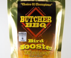 Butcher BBQ Bird Booster Honey Injection 120Z