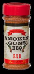 Smokin Guns BBQ Hot Rub 7 0Z