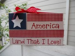 AMERICA - Land That I Love - VINYL and PAPER only