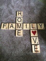 Scrabble Letters - VINYL only