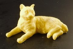 3D Laying Cat Goatsmilk Soap