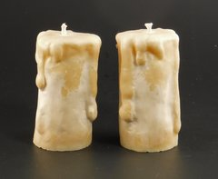 Set of two Large Votives
