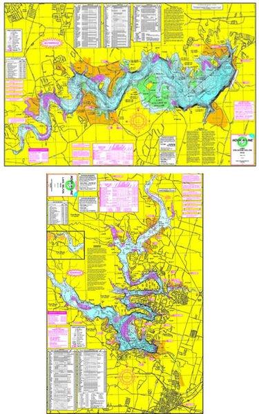 F140 lake belton lake stillhouse hollow fishing map for Belton lake fishing