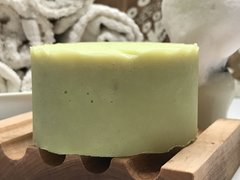 LEMONCELLO- SMALL BATCH RUSTIC ITALIAN SHAVE SOAP (for legs, underarms, beards)