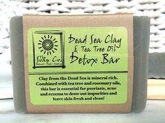 DEAD SEA CLAY + TEA TREE OIL DETOX BAR! 1 OUNCE SAMPLE