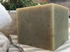 ROSEMARY MINT (with a hint of eucalyptus!) FRENCH SOAP BLOCK (about 1.4 pounds!)
