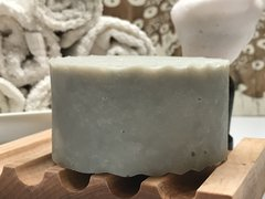 MINT - SMALL BATCH RUSTIC ITALIAN SHAVE SOAP (for legs, underarms, beards)