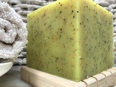 LEMON LIME VERBENA FRENCH SOAP BLOCK (about 1.4 pounds!)