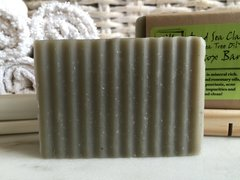 DEAD SEA CLAY + TEA TREE OIL DETOX BAR