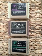 3-PACK SPECIAL!!! REFRESHING RASPBERRY ALMOND, FRESH LEMON LAVENDER, REJUVENATING ROSEMARY EUCALYPTUS MINT
