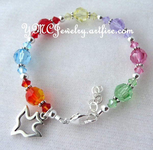 gift by goddaughter pin baptism godmother bracelet sajolie