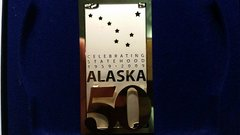 Alaska 50 Keepsake Ornament