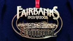 Fairbanks Centennial Keepsake Ornament