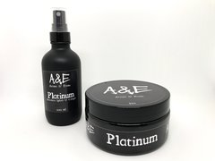 Introductory Online Price - Platinum 5oz Shaving Soap & Aftershave/Cologne Bundle