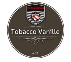 Tobacco Vanille Shaving Soap
