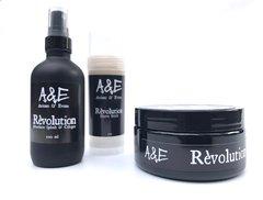 Introductory Online Price - Révolution 5oz Shaving Soap & Aftershave/Cologne Bundle