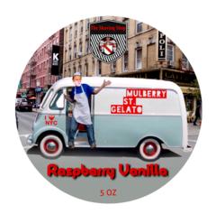 Raspberry Vanilla Shaving Soap
