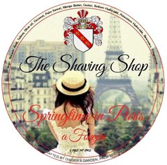 Springtime in Paris Shaving Soap