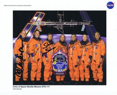 STS-117 Fully Autographed Lithograph (Contact for Price)